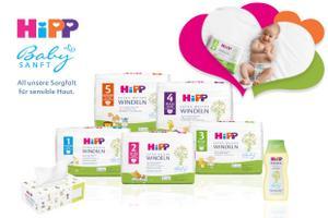 Mit HiPP Babysanft fühlen sich Babys rundum wohl