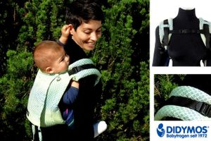 Gewinne eine DidyGo Facett Wasabi Babytrage