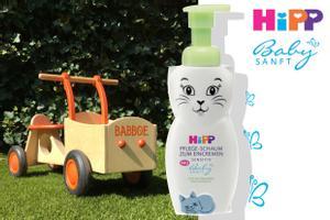HiPP Babysanft Pflege-Schaum und Babboe Laufrad zu gewinnen!