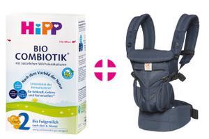 HiPP BIO COMBIOTIK Folgemilch und Ergobaby Babytrage