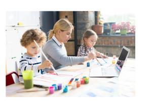 Kreativer Online Malkurs für Kinder