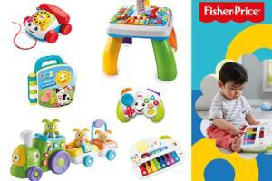 """Fisher-Price Geschenkpaket """"Spielzeuge für kleine Entdecker"""""""