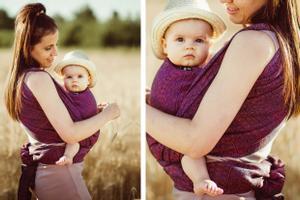 Gewinne ein DIDYMOS-Babytragetuch aus 100% kbA-Baumwolle