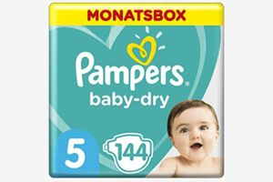 Monatsbox Pampers Baby-Dry Windeln