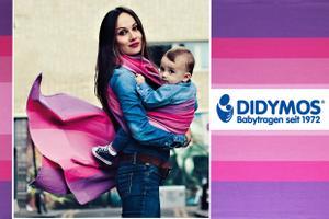Gewinne ein DIDYMOS-Babytragetuch nach Wahl