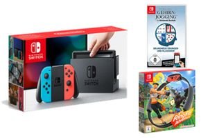 Nintendo Switch + Spielepaket