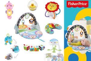 """Fisher-Price Geschenkset """"Hallo Welt"""" ab 0 Monaten"""