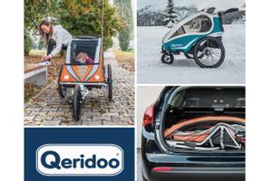 Fahrradanhänger von Qeridoo bis -57%* reduziert!