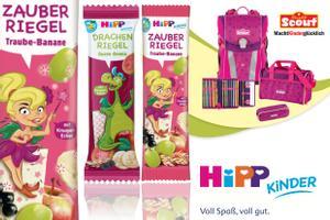 FRUCHTIGER KNABBERSPASS MIT DEN HIPP KINDER RIEGELN