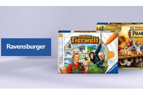 Ravensburger Spiele bis -60%* reduziert!