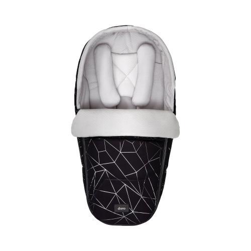 Diono Pod Newborn Softtragetasche schwarz