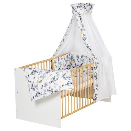 Schardt Babybett mit Ausstattung Classic Gold 70x140 cm