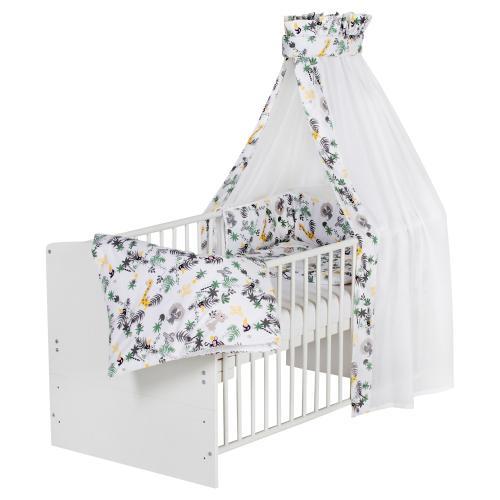 Schardt Babybett mit Ausstattung Classic White 70x140 cm