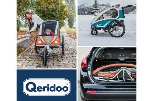 Qeridoo Fahrradanhänger bis -50%* reduziert!